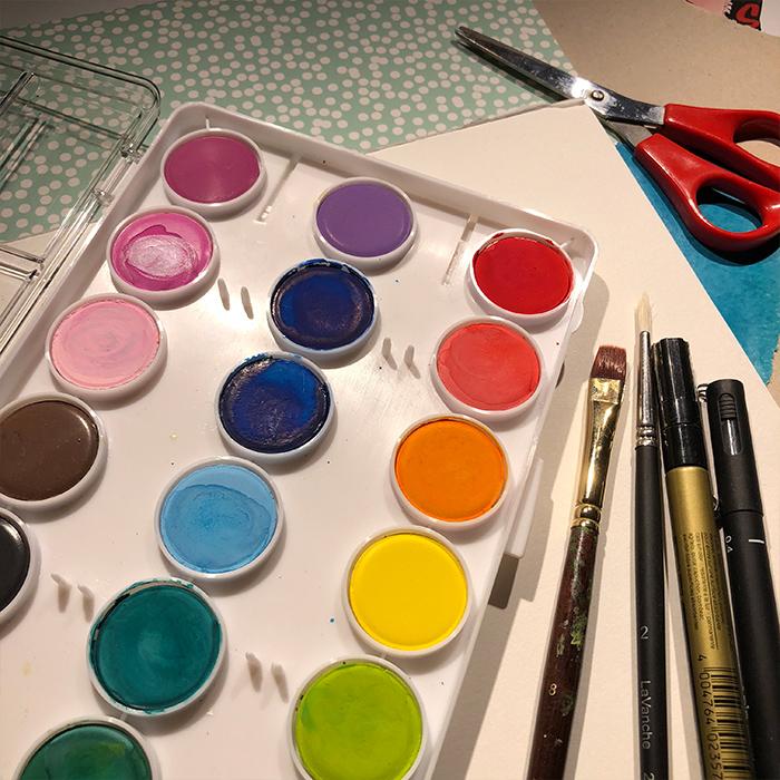 målarfärger